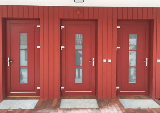 EUROPEAN TYPE EXTERIOR DOORS